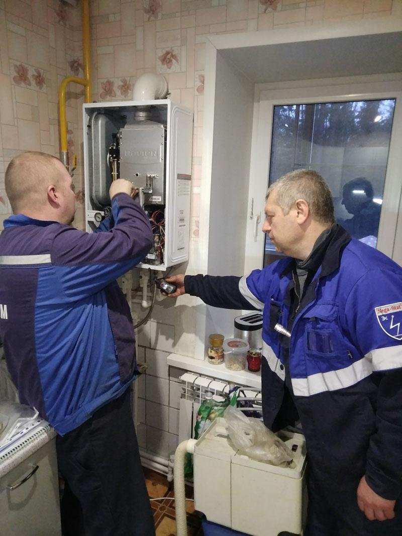 Техническое обслуживание и ремонт газовых котлов